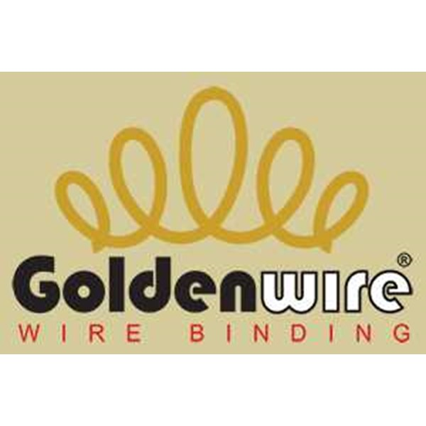 spiral spool roll golden wire 7/ 8-4