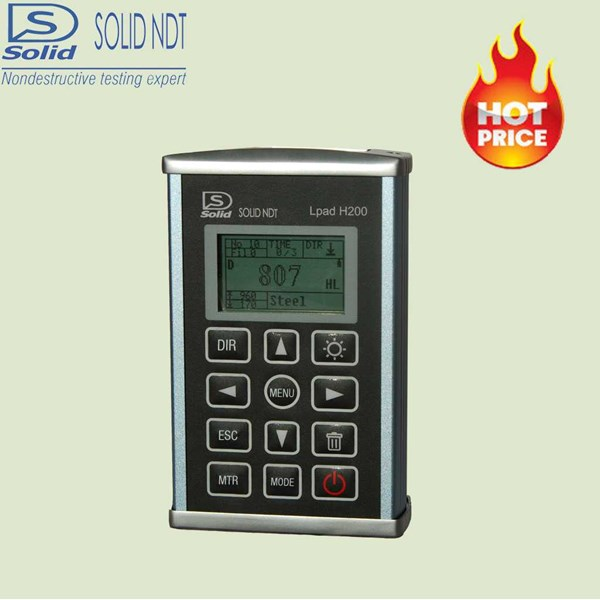 portable hardness tester/ leeb hardness tester lpad h200