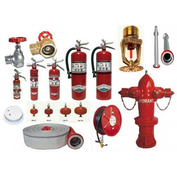 alat pemadam api ringan ( apar), portable fire extinguisher, troli pemadam kebakaran, mobile unit / trolley fire fighting system, fire alarm equipment, fire hydrant equipment, fire sprinkler equipment, fire hose / selang pemadam kebakaran, fire hose