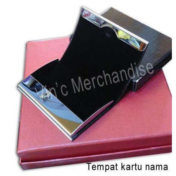card holder stainless