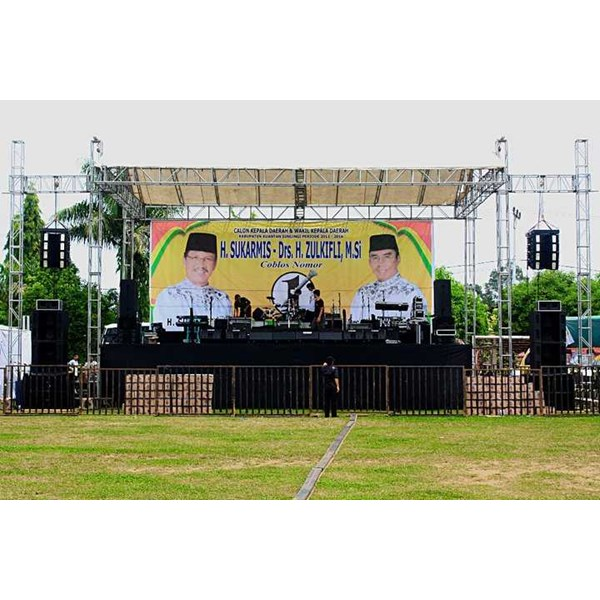 sewa rental panggung stage rigging -3