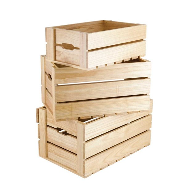 wooden crate & wooden box-1