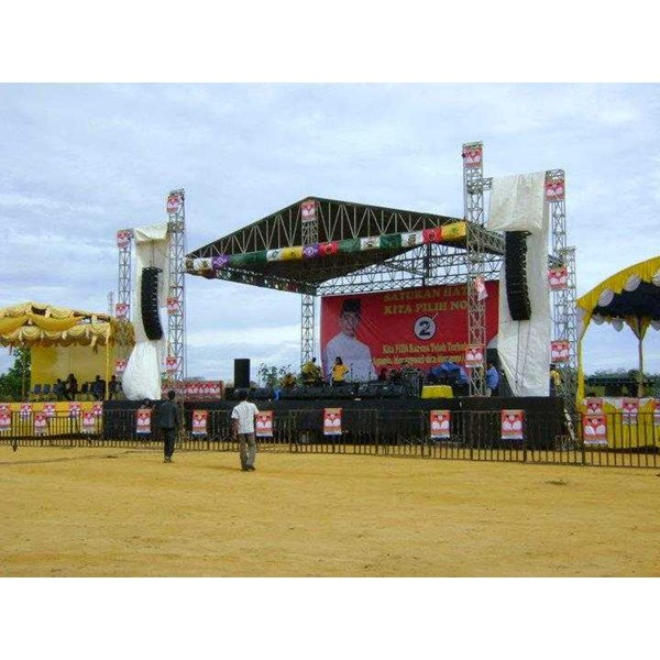 sewa rental panggung stage rigging -4