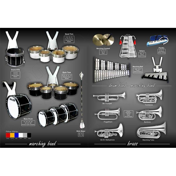 kanaya drum band : jual perlengkapan alat drum band & marching band-3