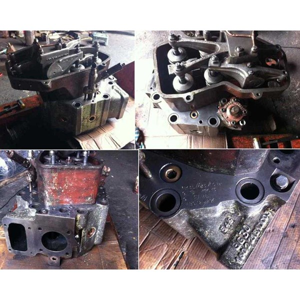 cylinder head for mak 453 ak with cooling ( dengan pendingin)-2