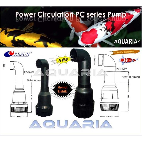 resun pc series power circulation pump-1