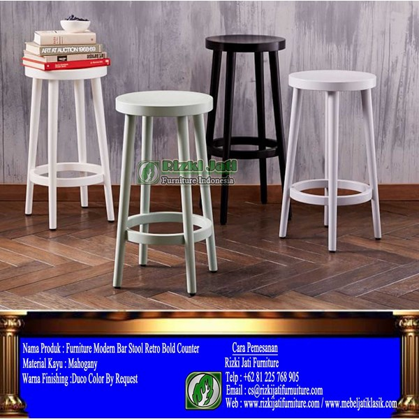 furniture modern bar stool retro bold counter-1