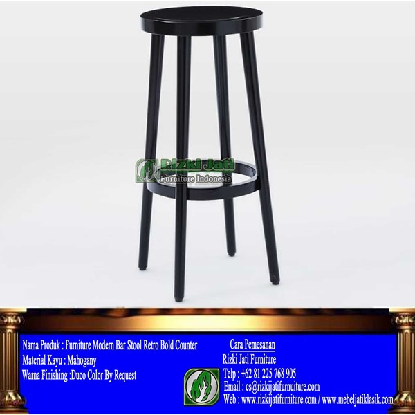 furniture modern bar stool retro bold counter
