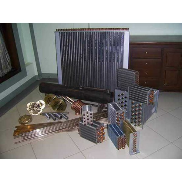 shell and tube evaporator condensor heat exchanger-1