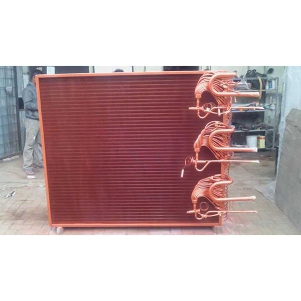 shell and tube evaporator condensor heat exchanger-2