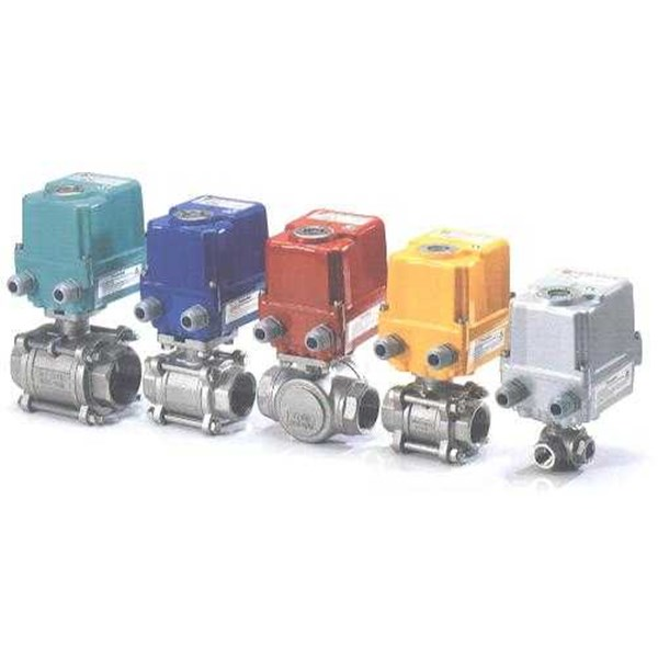 ball valve with motorized actuator-2