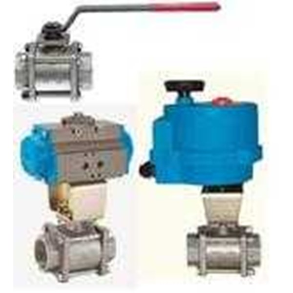 ball valve with motorized actuator-4