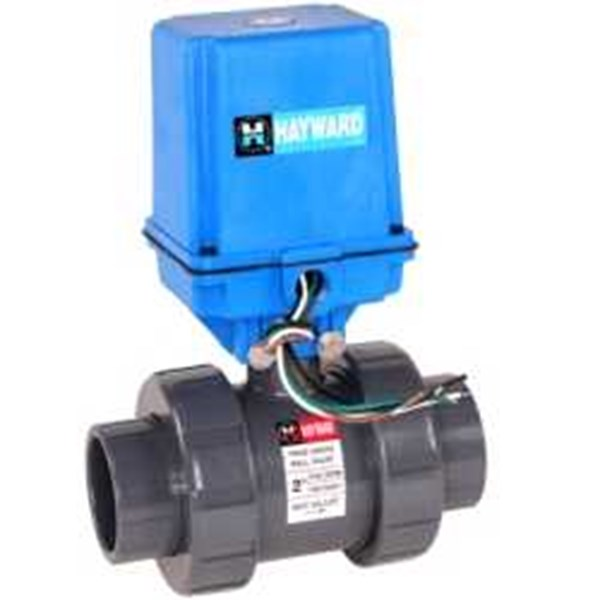 ball valve with motorized actuator-3