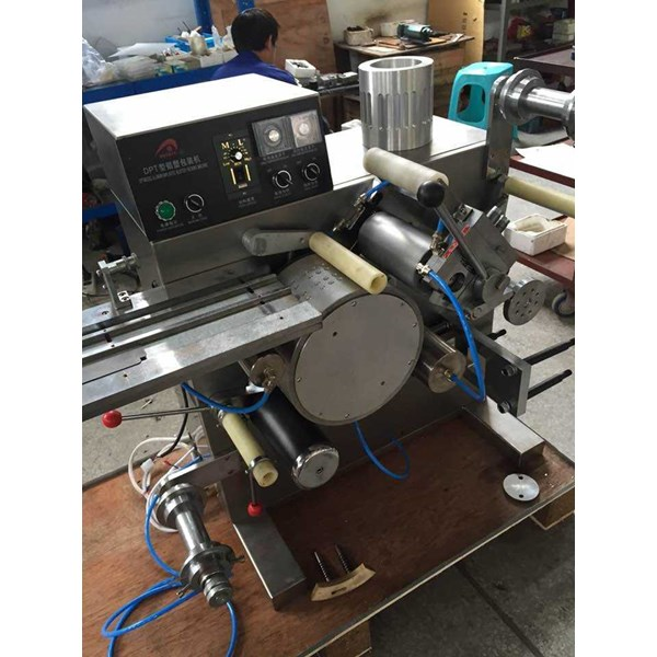 mini alu / pvc blister packing machine model: dpt-80-4