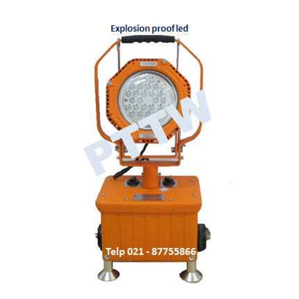 distributor lampu led portable explosion proof khj indonesia
