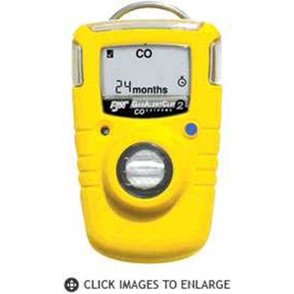 bw technology gasalertclip extreme 2-year single gas detector