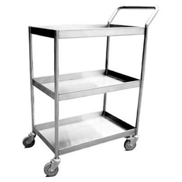 trolley stainless 3 susun / 1 handle-1