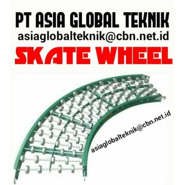 skate wheel conveyors. pt asia global teknik