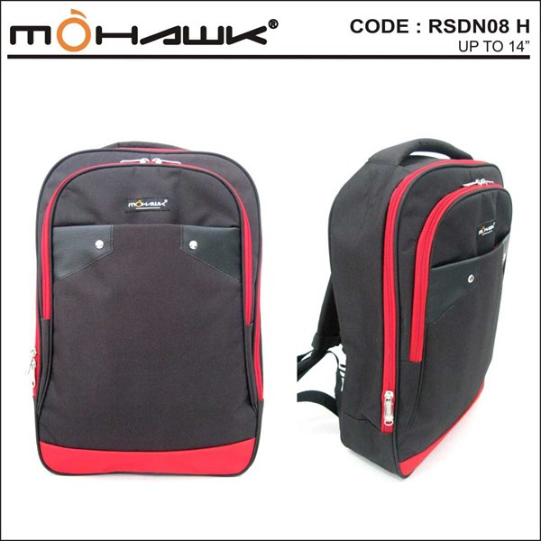 tas punggung/ransel/backpack laptop notebook netbook - mohawk rsdn-08-1