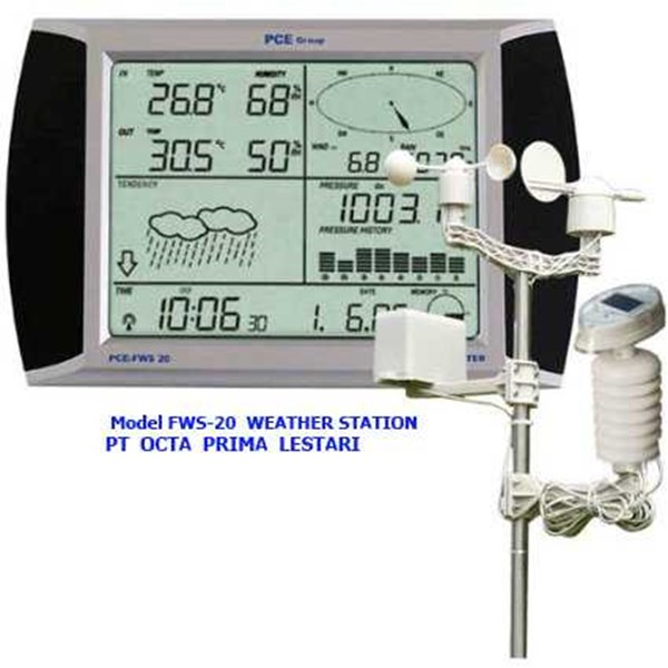 weather station meter pce fws 20