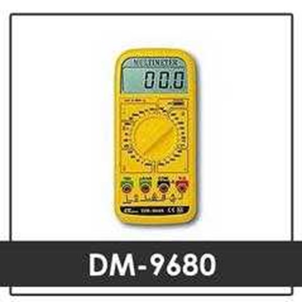 jual alat industri, agen indonesia lutron dm-9680 multimeter