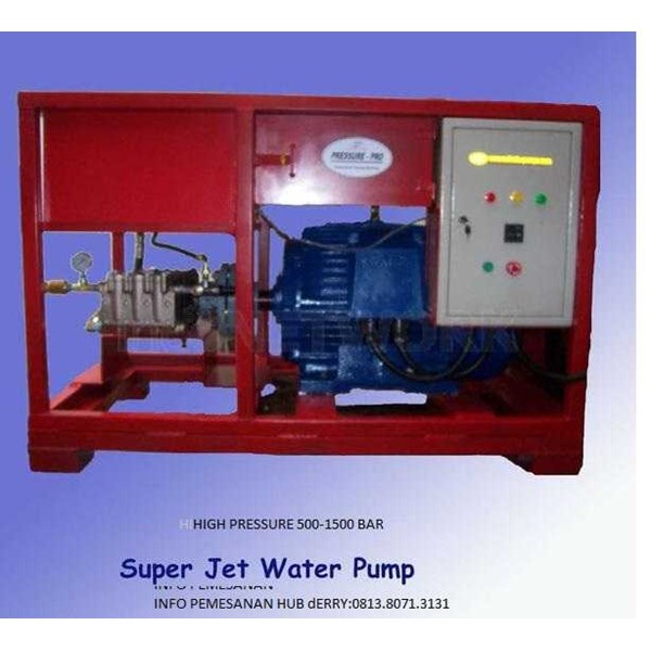 500 bar - 30 hydro blasting machine high pressure pump-1