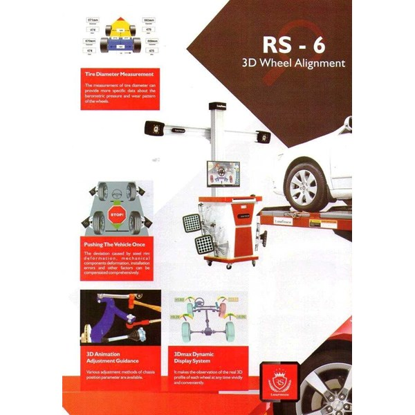 spooring / wheel alignment 3 d lawrence rs-6-1