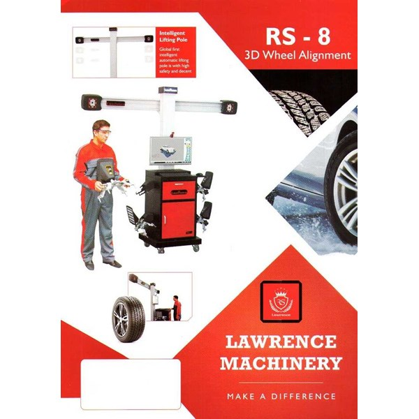spooring / wheel alignment 3 d lawrence rs-8-1