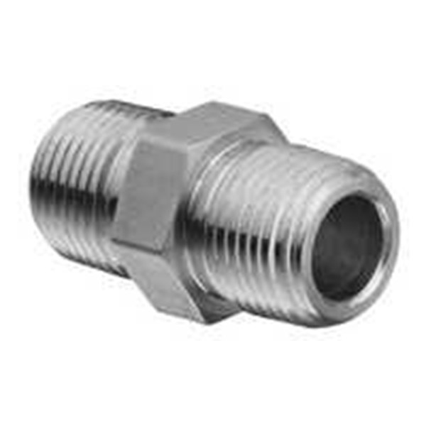 double nipple 1 1/4-3000#npt material a105