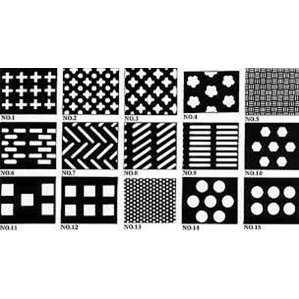 perforated plate / perforated sheet/ plat lubang (62)