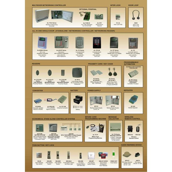 door access albox access control system & accessories