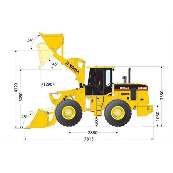 jual wheel loader xgma-4
