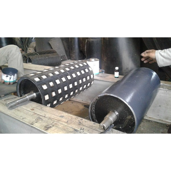 rubber lagging pulley-4