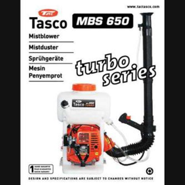 misblower turbo mbs 650