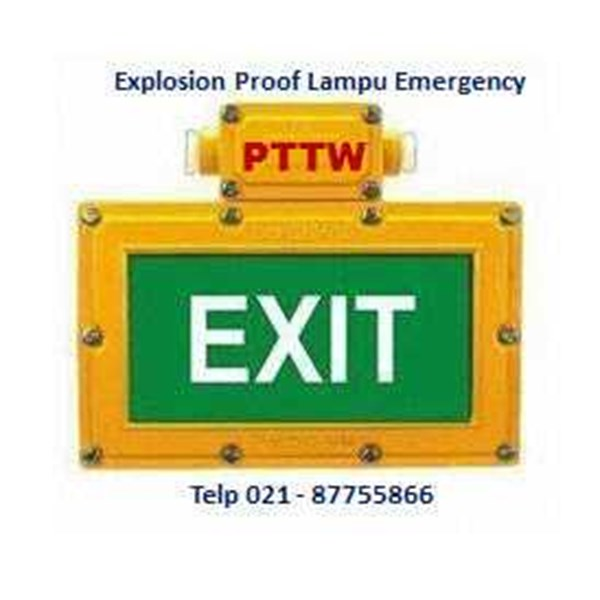 distributor lampu emergency explosionproof bc9302a tormin