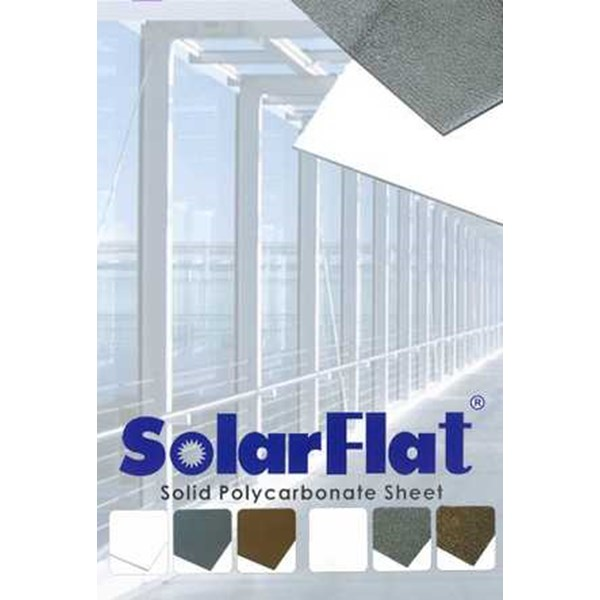 atap polycarbonate solid solarflat 1,2mm