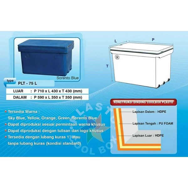 plasto coolbox - cool box - cooler box-2