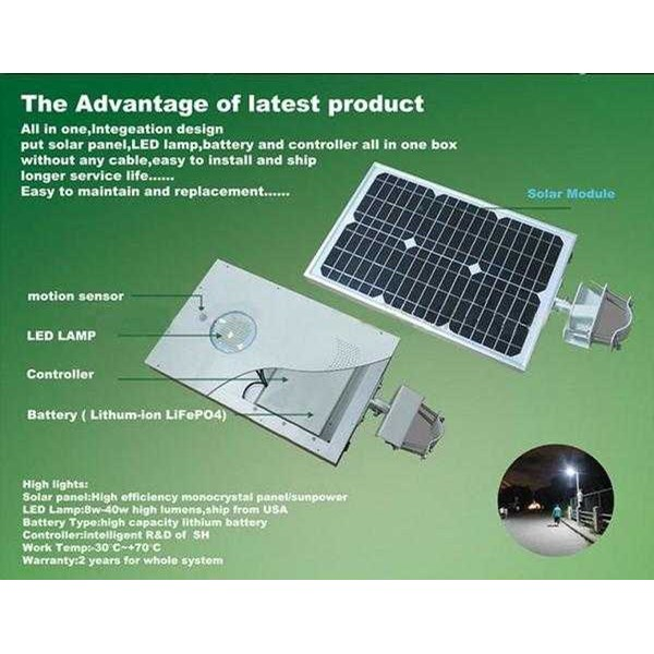 jual lampu pju solarcell all in one 15 - 20 watt harga distributor-1