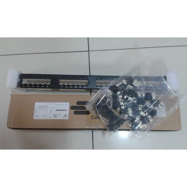patch panel amp 24port cat 6 (1933796-2)-1