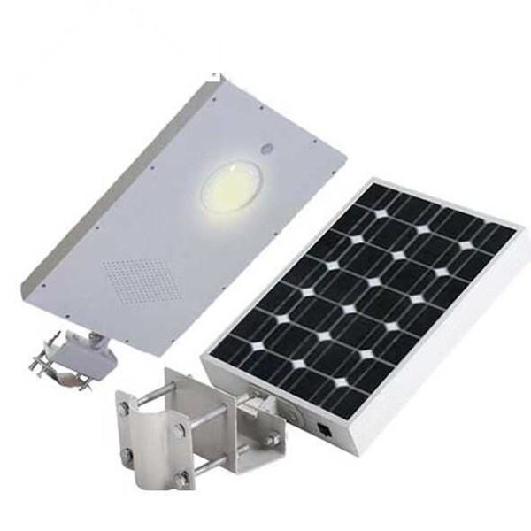 jual lampu pju solarcell all in one 15 - 20 watt harga distributor