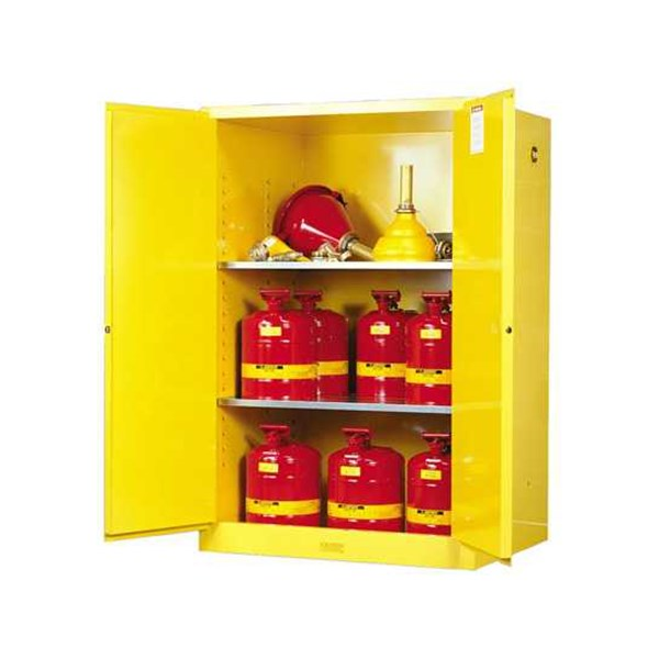 justrite flammable yellow