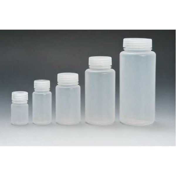wide mouth bottle, white hdpe
