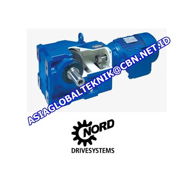 nord - helical gear motor