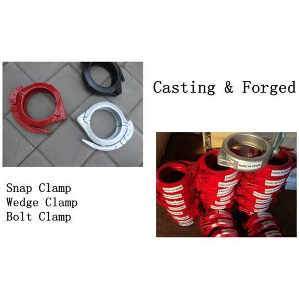 oil seal, clamps & piston end-4