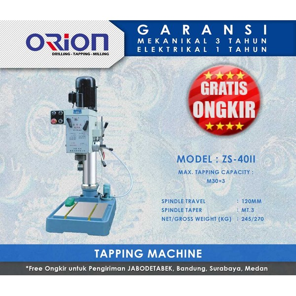 orion tapping machine-zs-40ii
