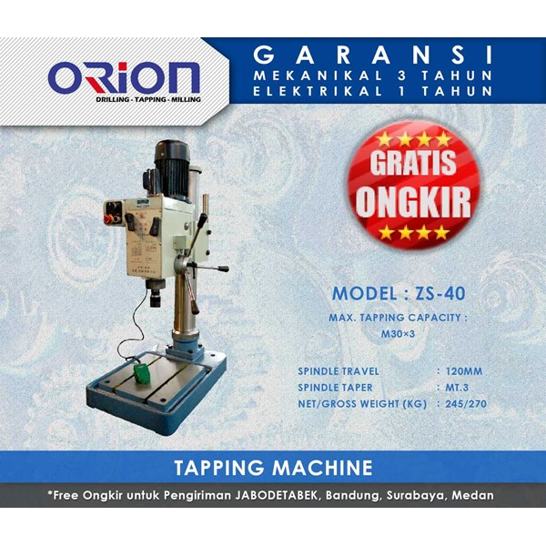 orion tapping machine-zs-40