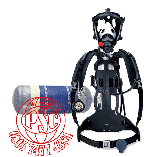 breathing apparatus survivair cougar scba