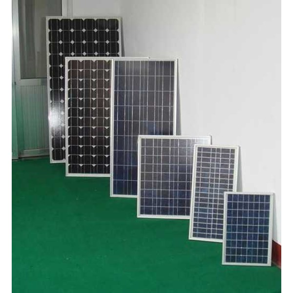 jual panel surya 100 wp poly & mono 12/24v (modul solar cell)-1