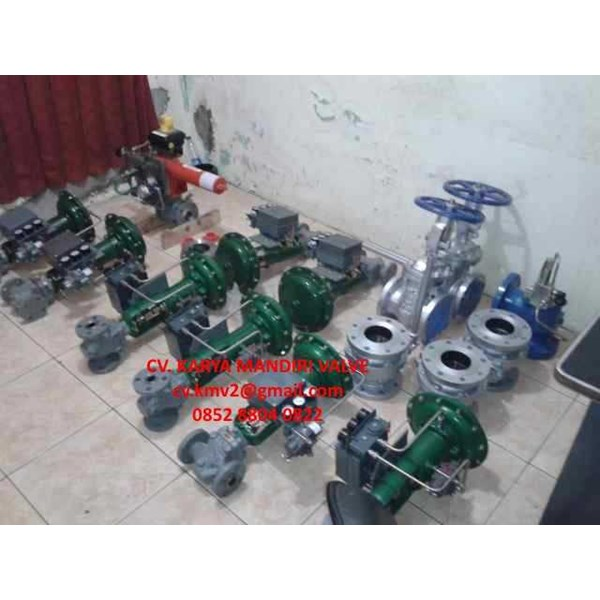fisher control valves pcv & lcv-4