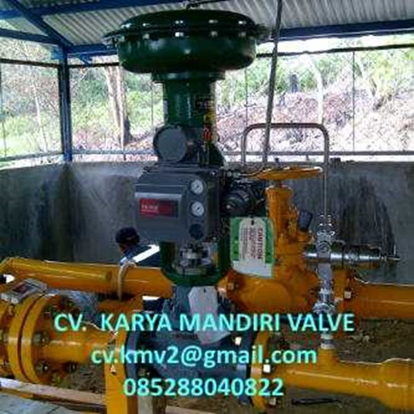 fisher control valves pcv & lcv-1